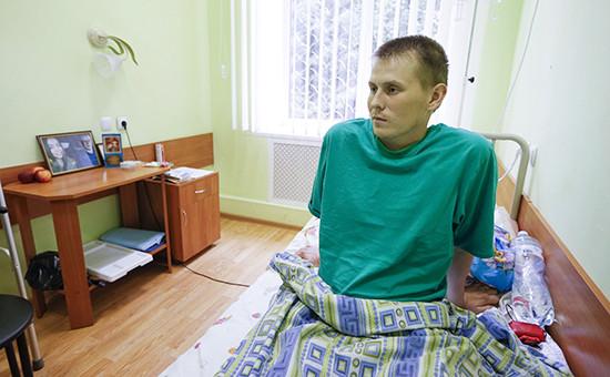Задержанный в Луганской области россиян Александр Александров