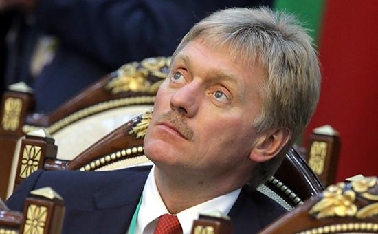 Пресс-секретарь президента РоссииДмитрий Песков
