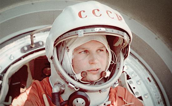 Первая женщина-космонавт Валентина Терешкова. Архивное фото