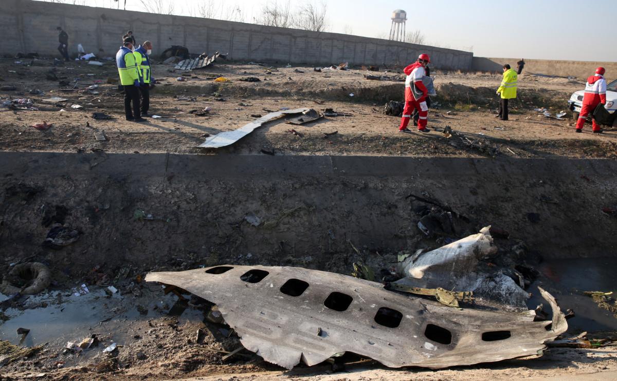 Boeing-737 «Международных авиалиний Украины» разбился 8 января после взлета из аэропорта Тегерана