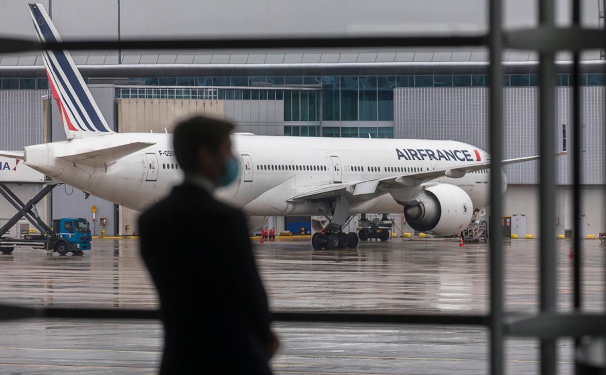 Россия согласовала рейсы Air France в обход Белоруссии