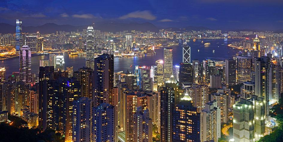 Панорама Гонконга