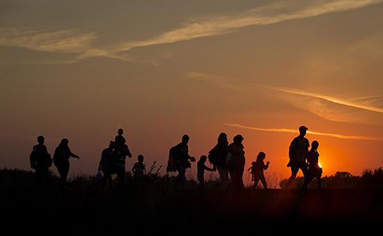 Беженцы из стран Ближнего Востока