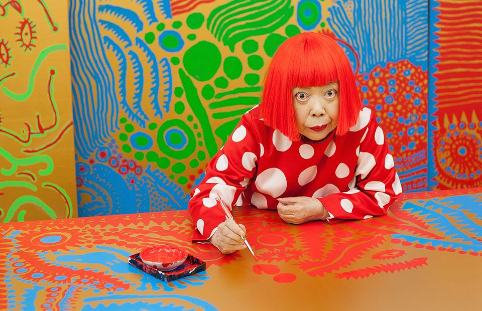 Японская художница Яёи Кусама
