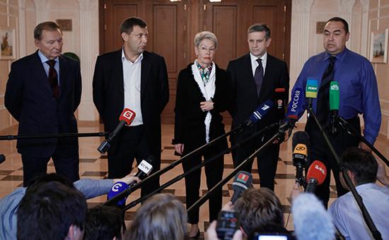 Экс-президент Украины Леонид Кучма, самопровозглашенный