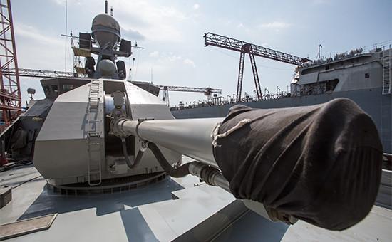 Малый ракетный корабль «Зеленый Дол» наЗеленодольском судостроительном заводе