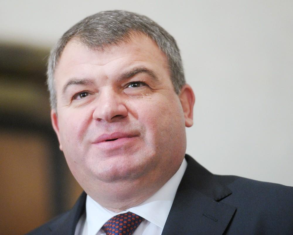 Бывший министр обороны Анатолий Сердюков
