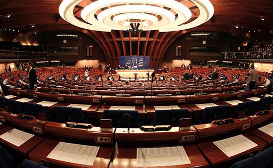 Зал заседаний Совета Европы вСтрасбурге