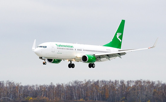 Boeing 737 «Туркменских авиалиний». Архивное фото