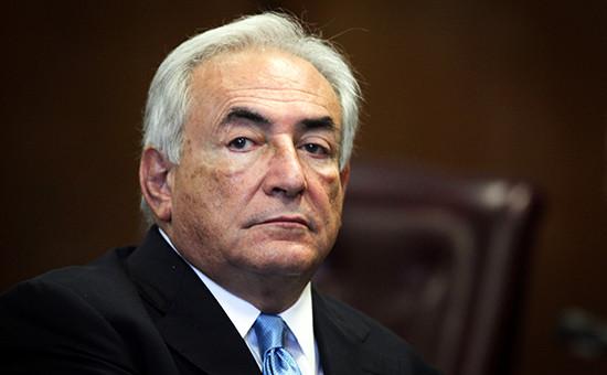 Бывший глава МВФ Доминик Стросс-Кан