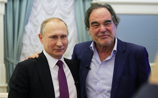 Владимир Путин иОливер Стоун