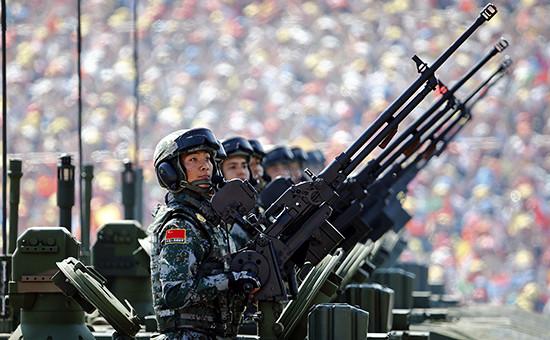 Военнослужащие Народно-освободительной армии Китая