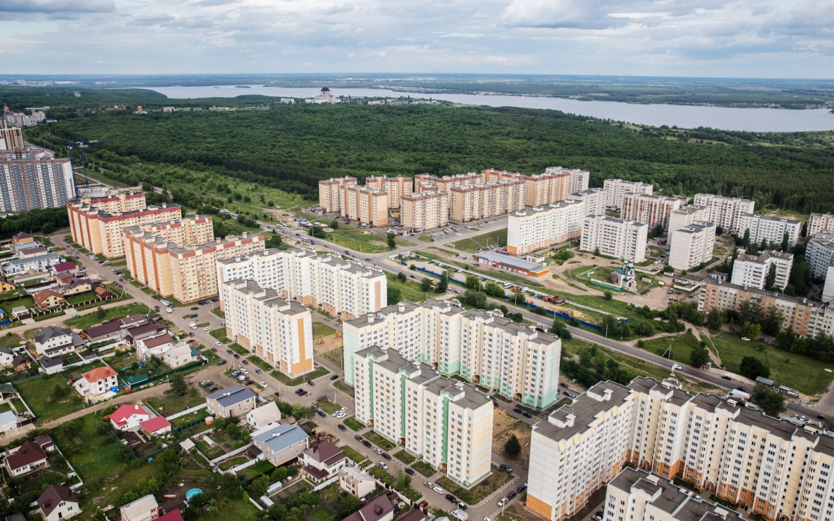 Вид Воронежа
