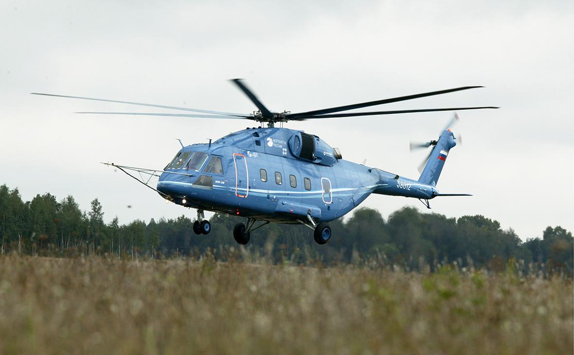 Вертолет Ми-38