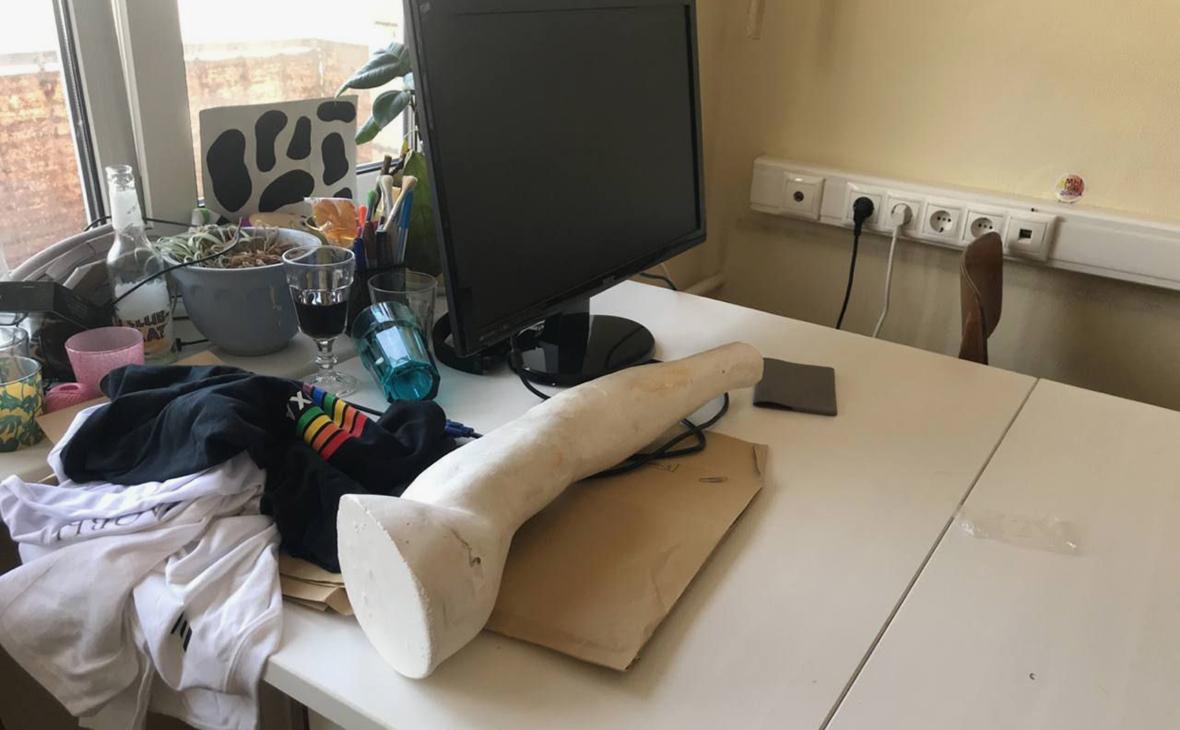 Офис DOXAпосле обыска
