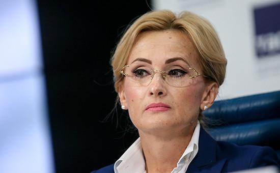 Председатель комитета Госдумы по безопасности Ирина Яровая