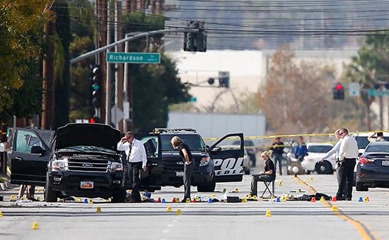 На месте происшествия, Калифорния, США