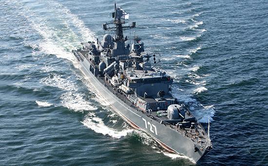 Российский сторожевой корабль «Ярослав Мудрый», июнь 2012 года