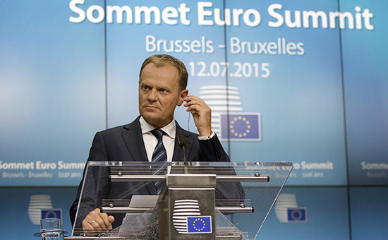 Председатель Европейского совета Дональд Туск