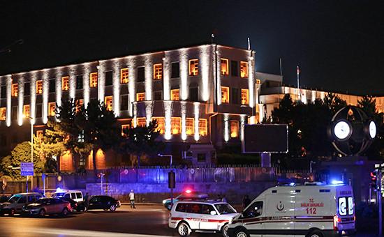 Здание Генерального штаба в Анкаре