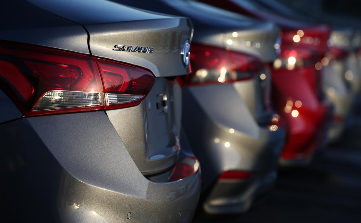 Седаны Hyundai Solaris