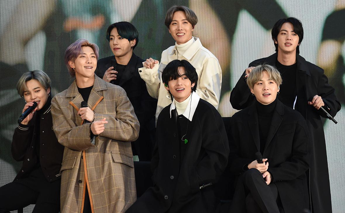 K-pop-группа BTS
