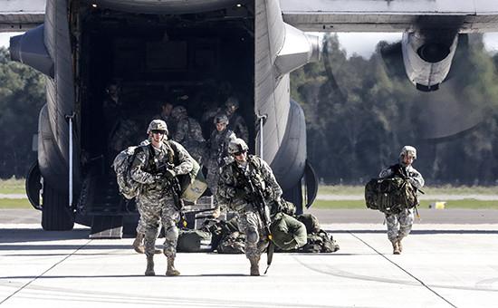 Солдаты НАТО. Архивное фото