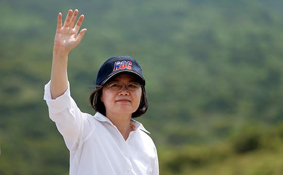 Президент ТайваняЦай Инвэнь