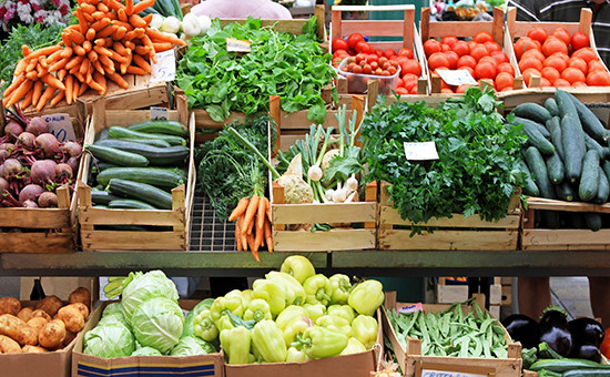 Овощи ифрукты подорожали сразу на2,5%