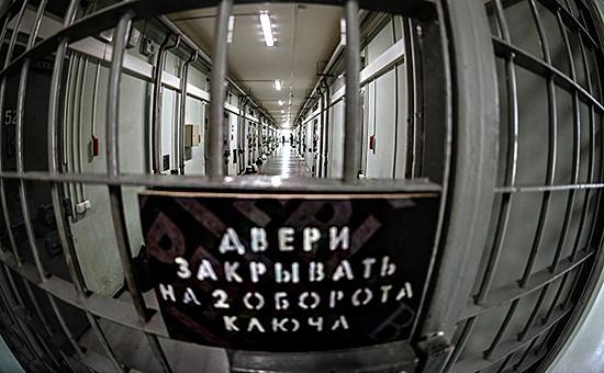 Коридоры московского СИЗО №4, где содержится Ильдар Шакиров