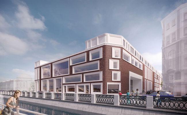 Новое здание Третьяковской галереи