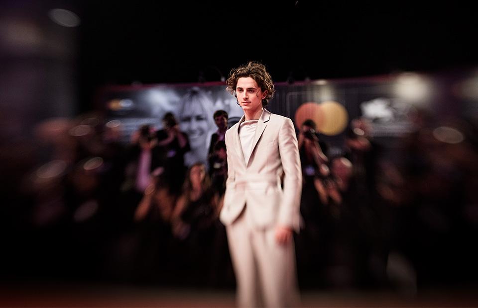 Тимоти Шаламе на премьере фильма «Король» на Венецианском кинофестивале 2 сентября