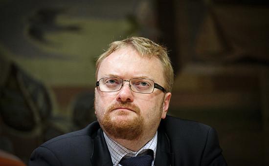 Депутат Заксобрания Петербурга Виталий Милонов