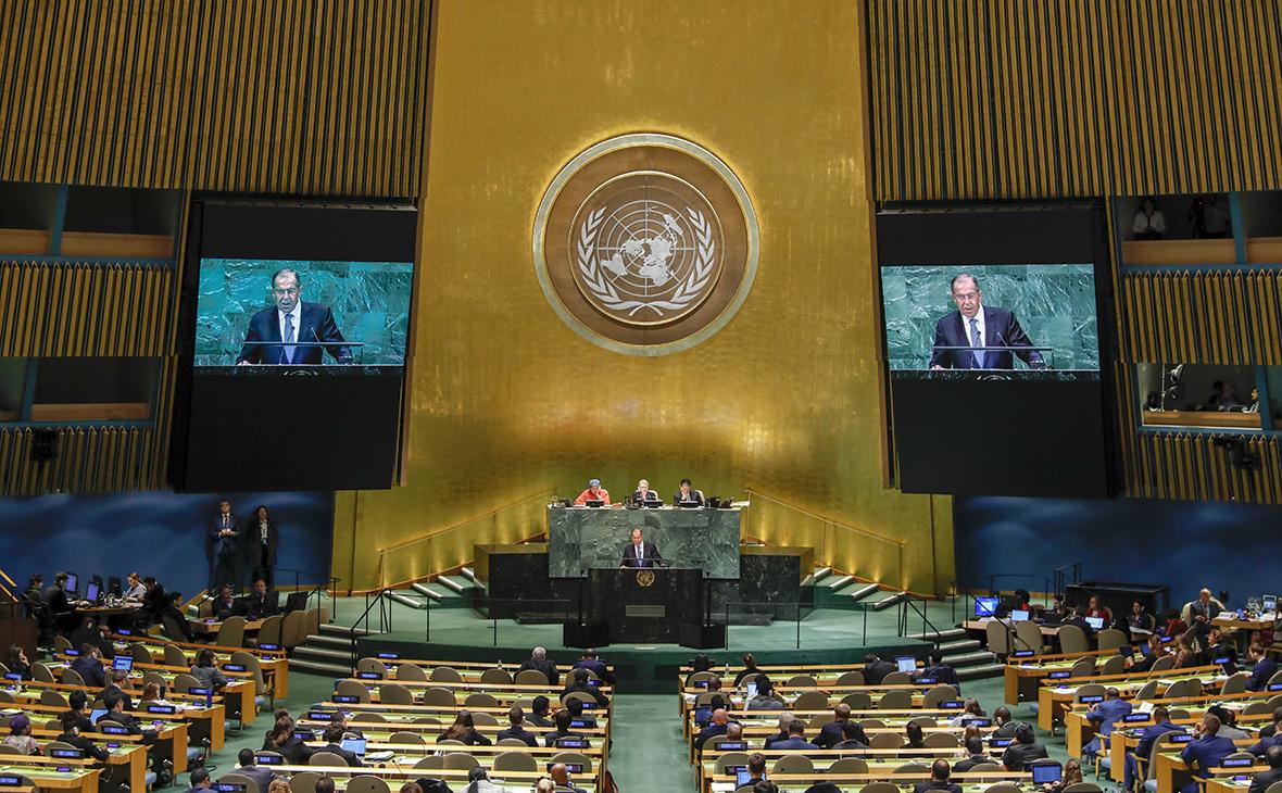 Выступление Сергея Лаврована 73-й сессии Генеральной ассамблеи ООН