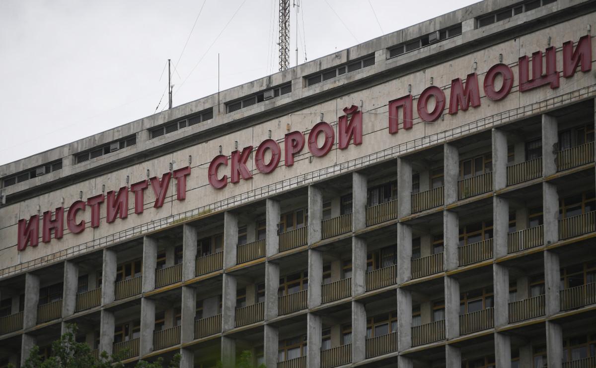 ЗданиеНИИ скорой помощи им. Н.В.Склифосовского в Москве