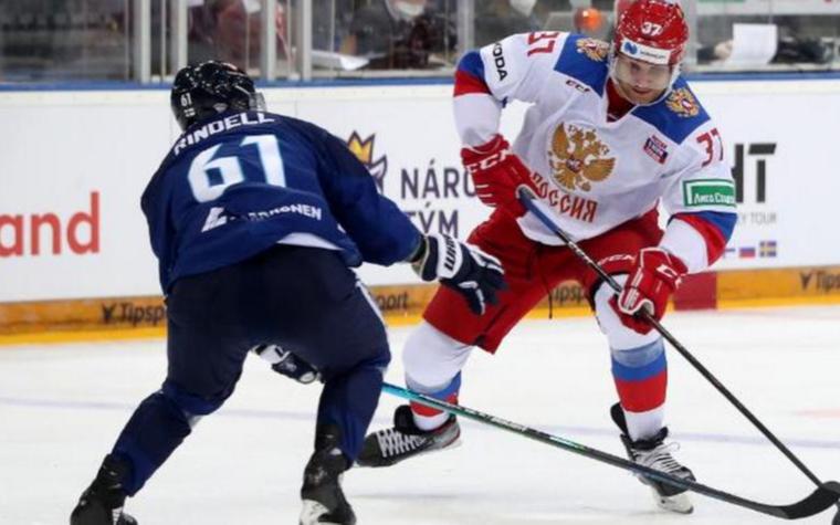 Фото: Матч Россия - Финляндия (Фото: пресс-служба Федерации хоккея страны)