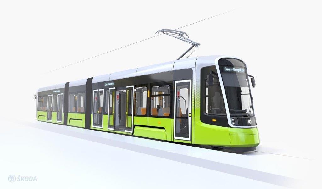 В планах «Синара-Шкода» представить опытный образец трамвая в 2021 году