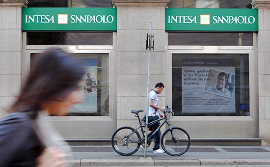 Отделение банка Intesa Sanpaolo