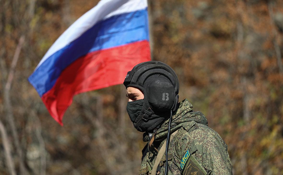 Российский миротворец в Нагорном Карабахе