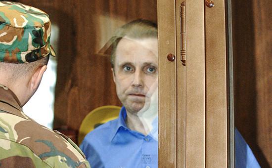 Бывший начальник службы безопасности ЮКОСа Алексей Пичугин, 2007 год