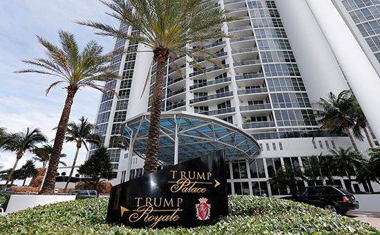 Комплекс Trump Palace в Санни-Айлс-Бич во Флориде