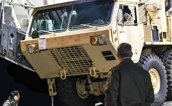 Противоракетный комплекс THAAD вЮжной Корее