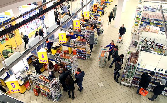 Сокращение доходов приведет к падению оборота розничной торговли