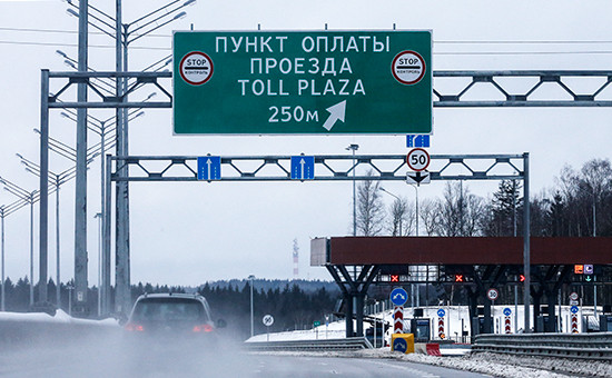 Участок платной дороги М11 Москва—Санкт-Петербург