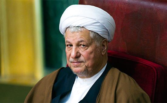 Бывший президент Ирана Али Акбар Хашеми Рафсанджани