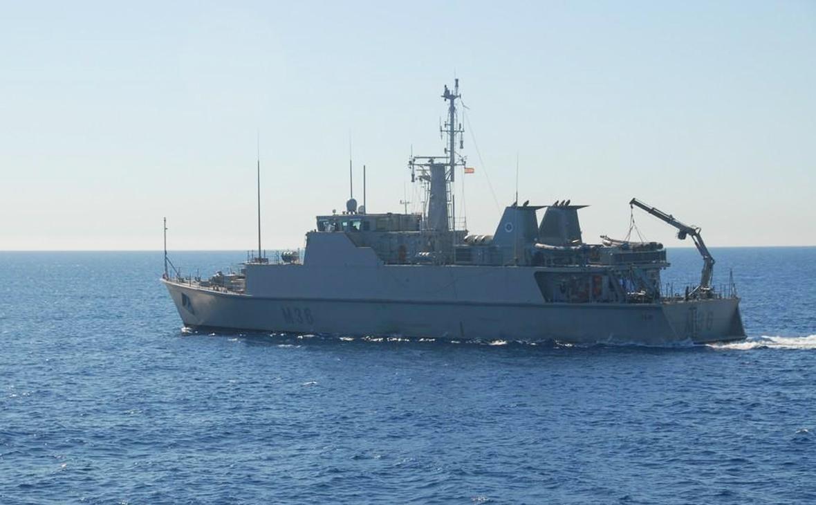 Корабль «Тахо» ВМС Испании