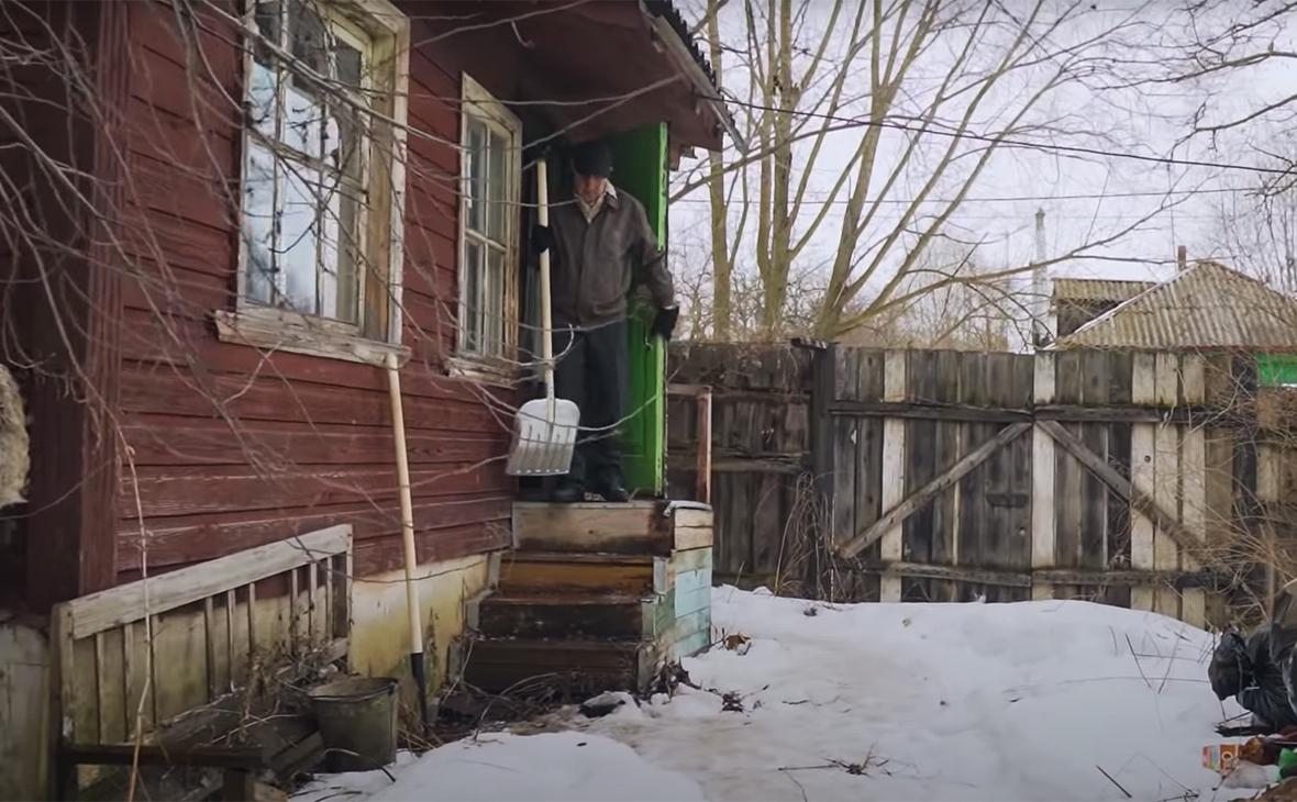 Виктор Мохов, кадр из интервью