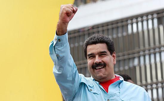 Глава Венесуэлы Николас Мадуро