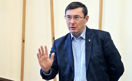 Председатель Блока Петра ПорошенкоЮрий Луценко