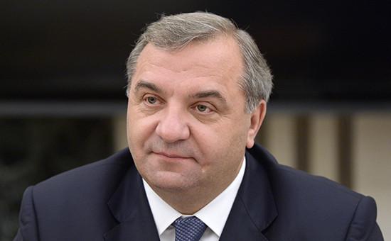Глава МЧС России Владимир Пучков